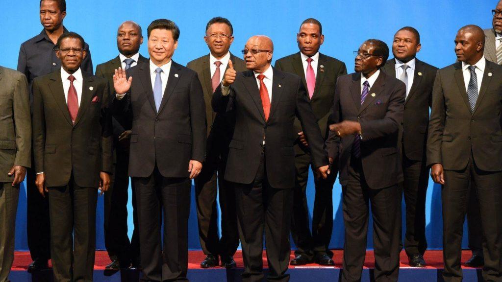 Reunião do Foro de Cooperação China-África (via Instituto de Estratégia).