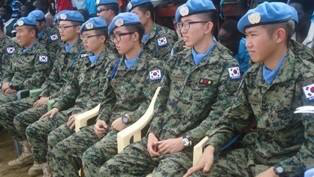 A Companhia de Engenharia Militar da Coréia do Sul doou equipamentos em Bor, no Sudão do Sul. Via gurtong.net