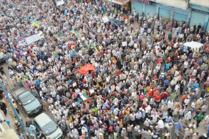 O futuro será um de explosiva luta de classes, em Marrocos e em todo o mundo. Via Magharebia.