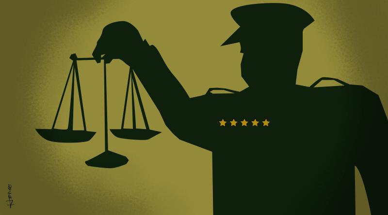 """Um fio da """"sinergia"""" entre Forças Armadas e Judiciário. Imagem via Duplo Expresso."""