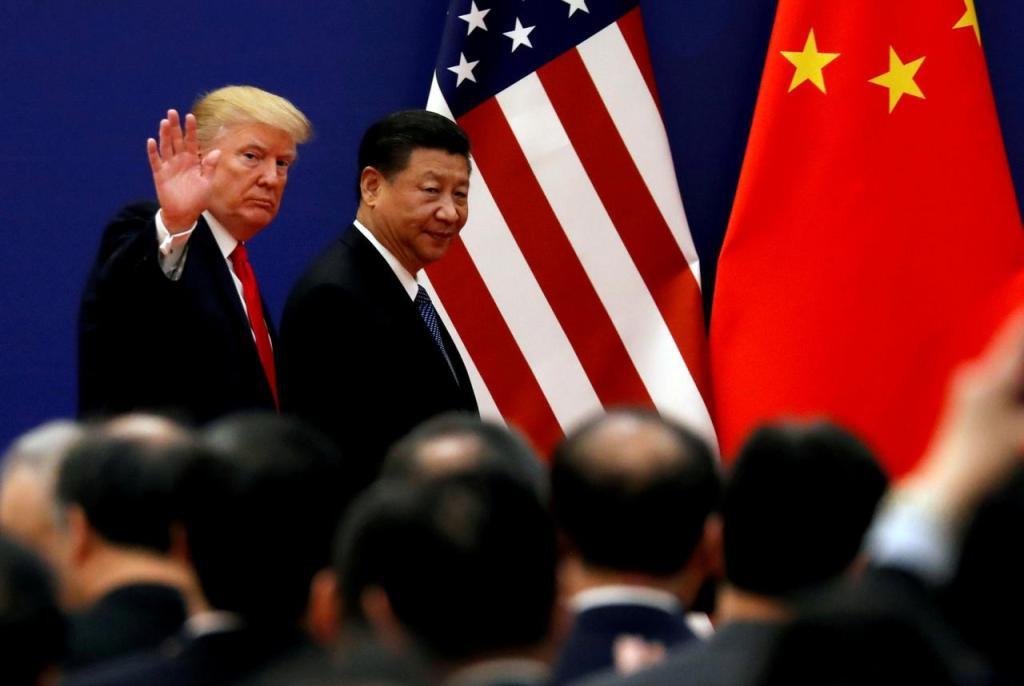 As lideranças dos dois países no centro da atual disputa geopolítica, Donald Trump e Xi Jinping. Foto por Damir Sagolj.