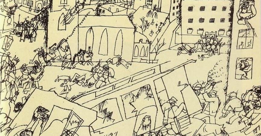 Pandemonium, Otto Dix, 1914