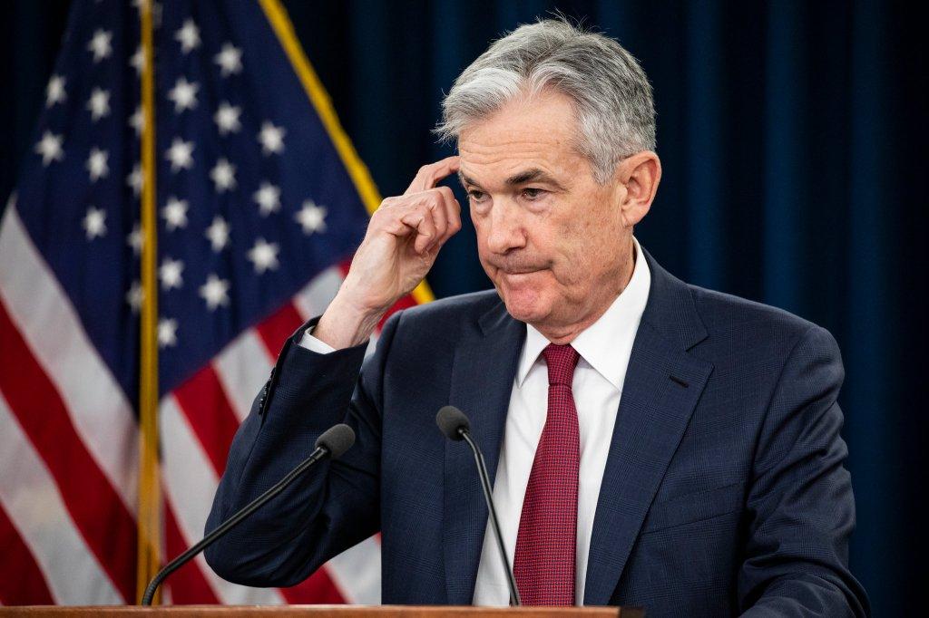 O atual presidente do Fed, Jerome Powell. Foto por Samuel Corum.