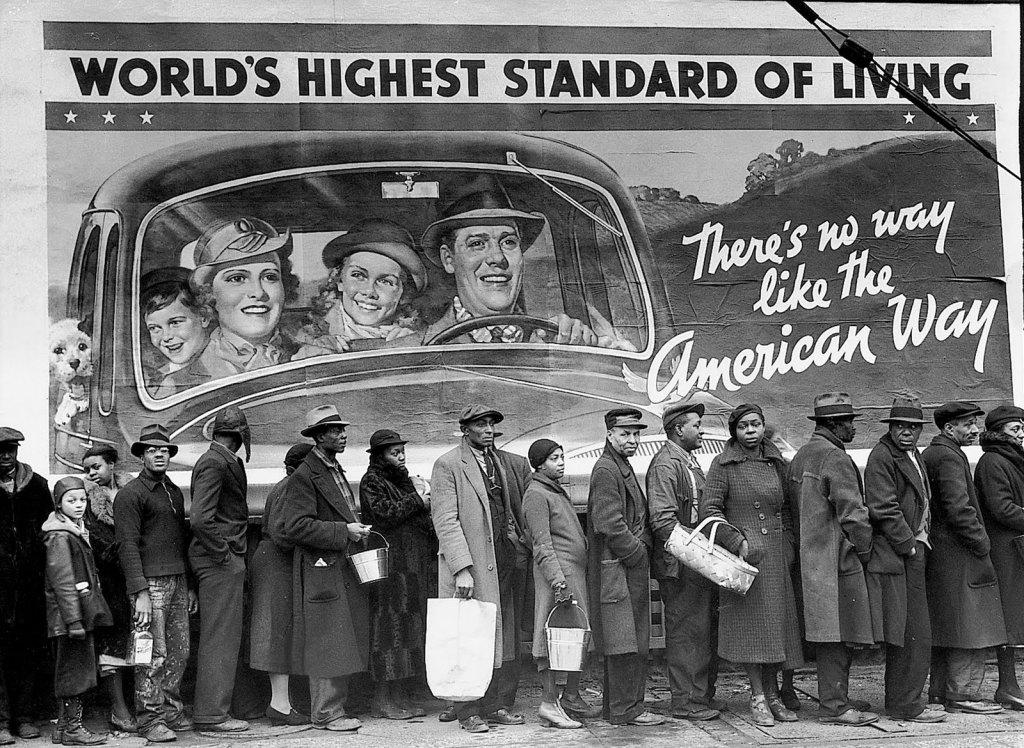 Foto por Margaret Bourke-White, 1937.